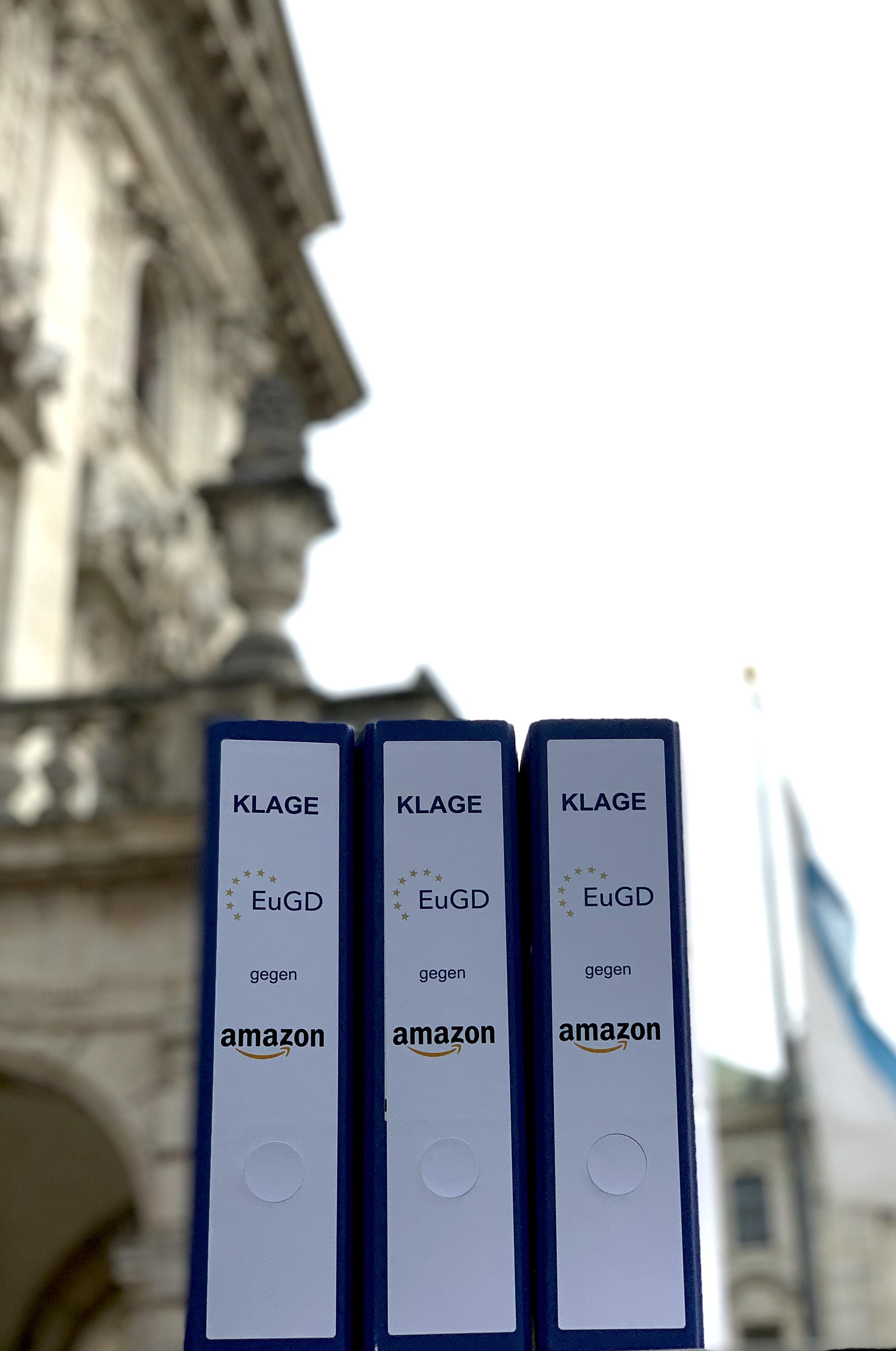 EuGD Klage gegen Amazon vor Landgericht München I